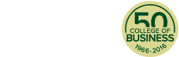 Colorado State University College of Business, 1966-2016