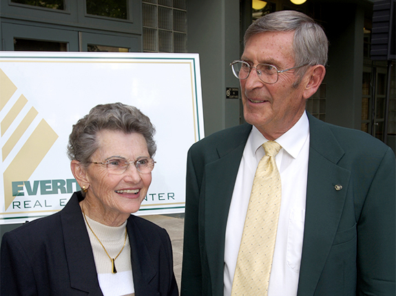 Bob and Joyce Everitt, 2005
