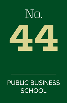 No. 44 public business school