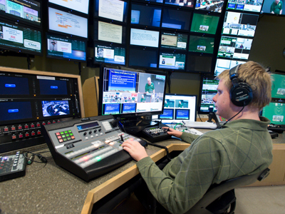 Video capture control room