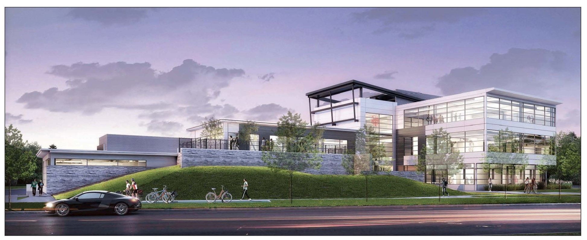Nancy Richardson Design Center architectural rendering