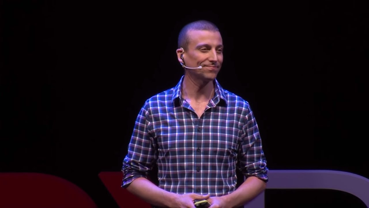 Cameron Brown speaks at TEDxRoma