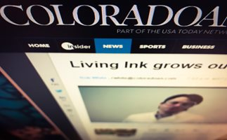 Living Ink covered by the Coloradoan.